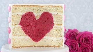 Торт Сердце. Подарок на день Святого Валентина 💗💗💗