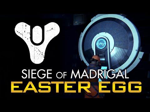 Destiny - Jukebox Easter Egg! Siege of Madrigal Remix!
