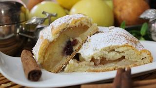 Рецепт- Яблочный пирог на творожном тесте(Для начинки берем: 6 приблизительно одинакового, не слишком большого размера яблока, половинку лимона,..., 2017-02-06T09:41:51.000Z)