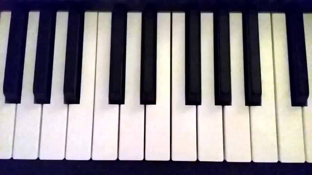 How to play a B flat 7 chord on piano - YouTube A Flat Chord Piano