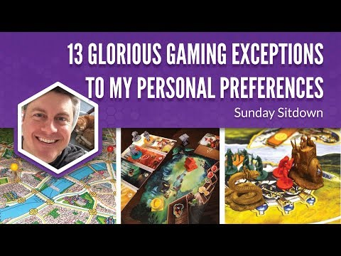 13 Glorious Gaming Exceptions to My Personal Preferences (Sunday Sitdown)