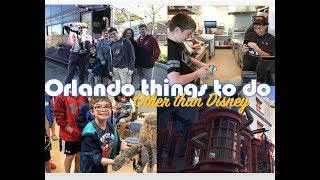 Orlando Things to Do Other than Disney! plus Lord Byron Solves a Rubik