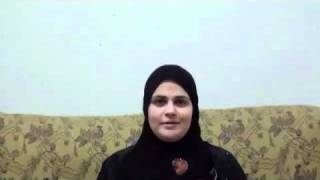 فتاه مصريه من الاسماعيليه تشهر اسلامها 2010.
