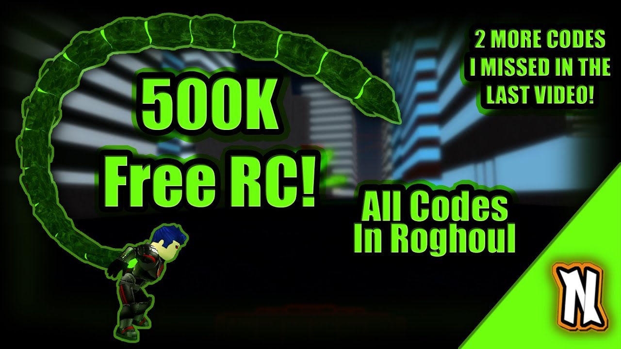 All Rc Cell Code Ro Ghoul