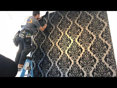 Residencial  wallpaper installation!