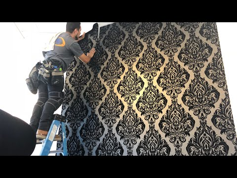 Residencial  Wallpaper Installation!