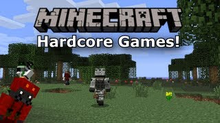 "Minecraft Hardcore Games - Attempt 2 ""Skybase Madness!"""