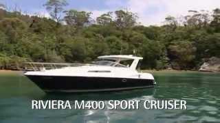 Riviera M400 Sports Cruiser · 瑞维雅M400运动游艇