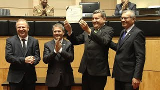 Prefeito de Chapecó recebe Título de Cidadão Catarinense