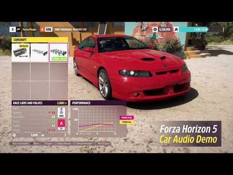 Forza Horizon 5: Audible Upgrades Preview
