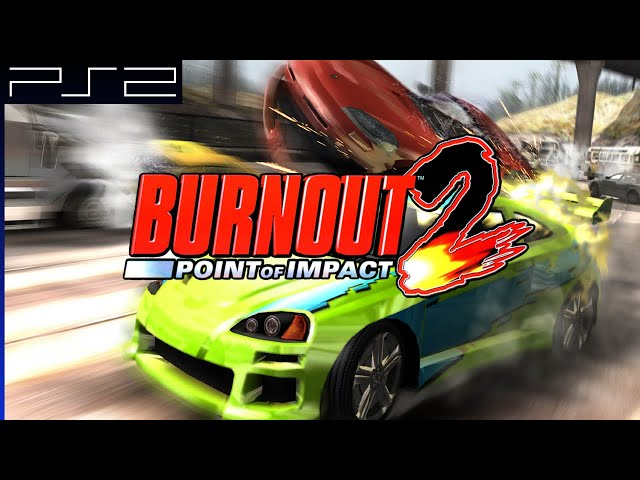 Playthrough [PS2] Burnout 2: Point of Impact