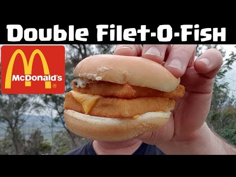 McDonald's Double Filet-O-Fish Reviewed