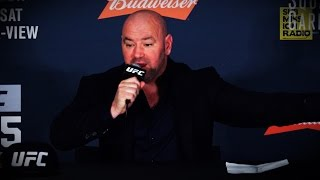 UFC 205: Dana White Reacts to Conor McGregor KO'ing Eddie Alvarez, Becoming Dual Champion