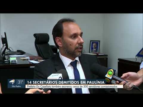 Exonerações em Paulínia, troca de secretários na cidade a todo vapor