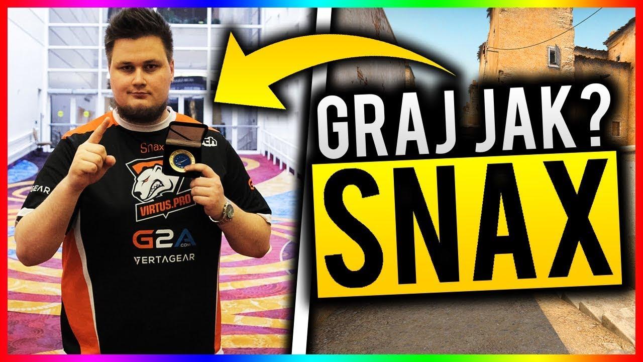 GRAJ JAK … VIRTUS.PRO SNAX W CS:GO !!