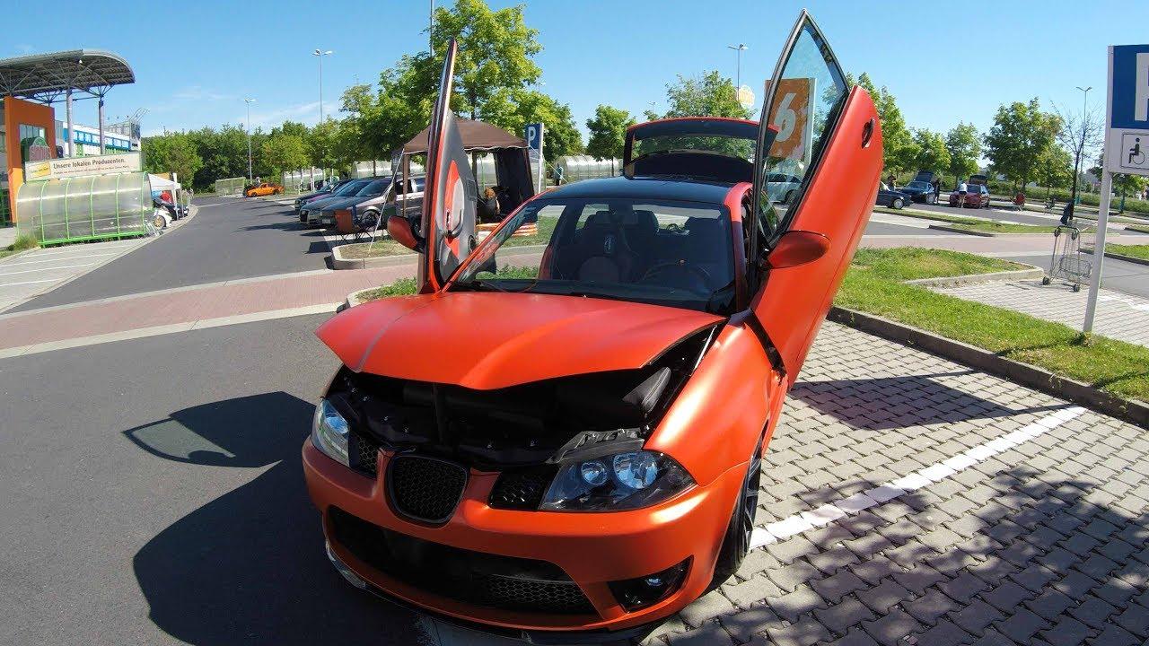 Seat Ibiza 6l Tuning Show Car With Lambo Doors