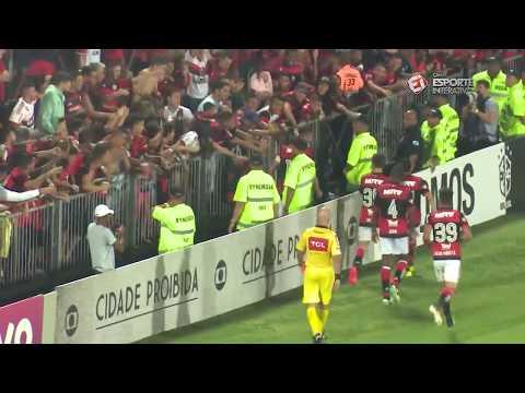 Melhores momentos - Flamengo 4 x 1 Bahia - Campeonato Brasileiro (19/10/2017)