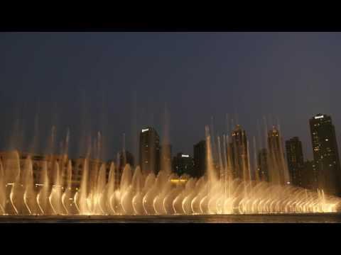 "The Dubai Fountain: ""Flying Drum"" (2016)"