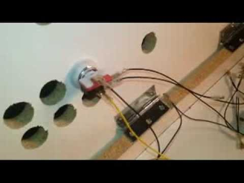 hqdefault how to install illuminated 12v arcade led push buttons youtube Basic Electrical Wiring Diagrams at eliteediting.co