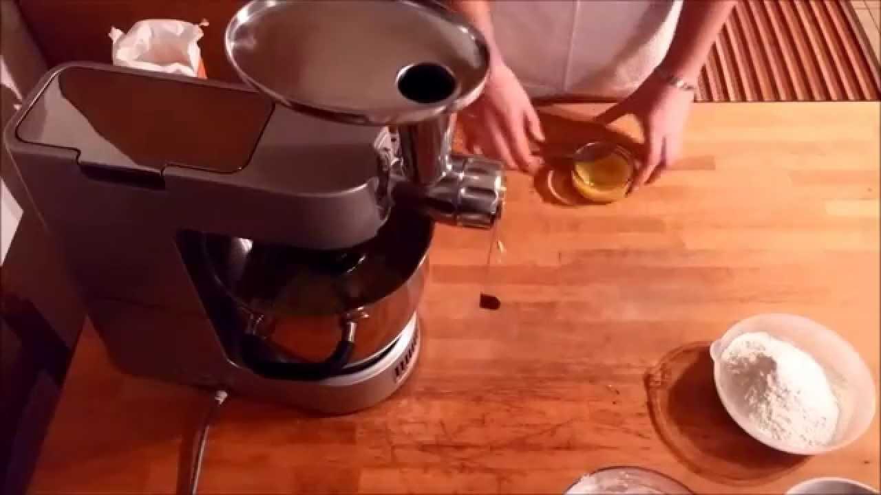 Biscottini con la Frolla Montata - Kenwood Cooking Chef - YouTube