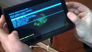 Tablet BeeX Cobra SD Hard Reset