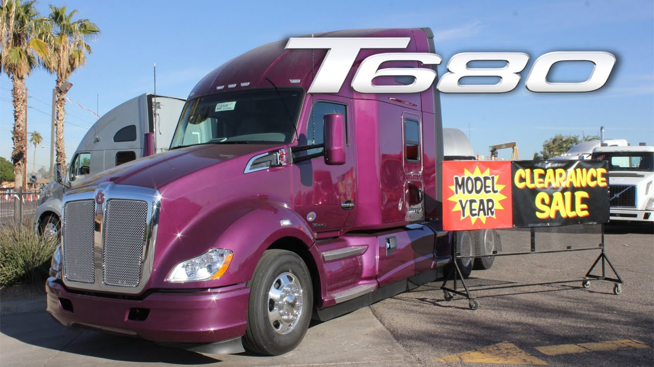 NEW 2016 Kenworth T680 - PURPLE ROAM - Inland Kenworth of Phoenix