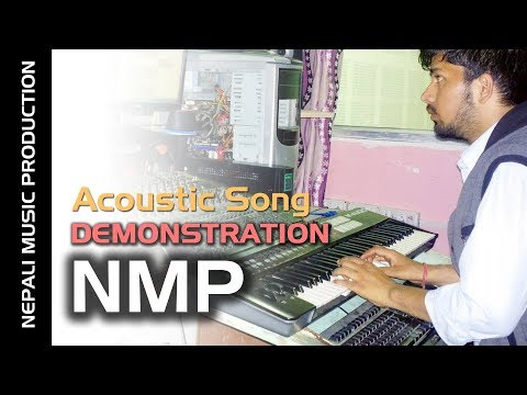 Acoustic Song Production Demonstration - NMP