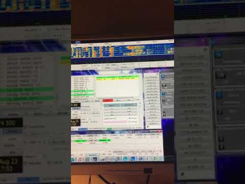A closer demo of FT8 auto sequence