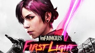 Infamous: First Light All Cutscenes (Game Movie) PS4 1080p HD