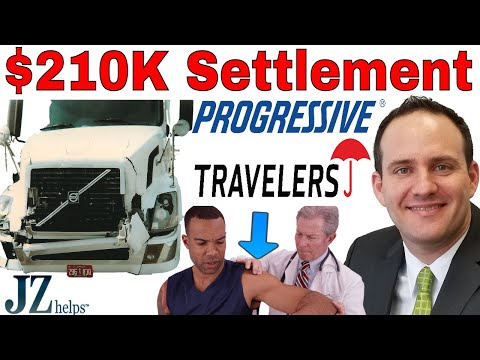 $210,000 Truck Accident Settlement in Less Than 2 Years for Shoulder Labrum Tear