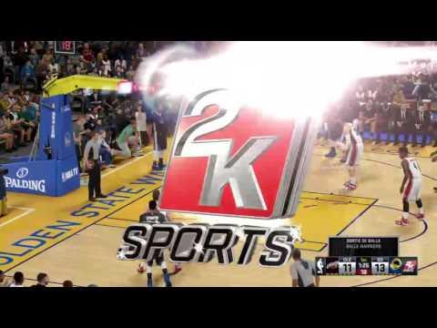 NBA 2k16 mode Match