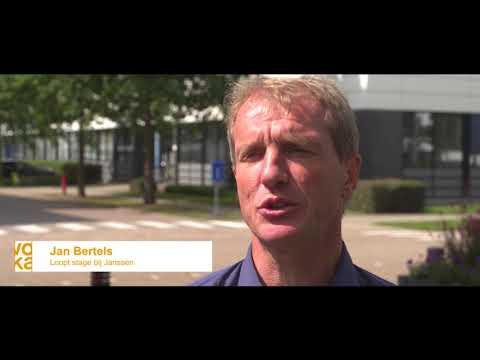 Jan Bertels liep stage bij Janssen (Video)