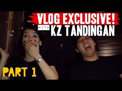 VLOG 21 - KZ TANDINGAN EXCLUSIVE INTERVIEW - AUTO TUNE? PART 1 of 2 [#VlogNiRaffy]