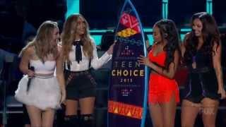 Little Mix - Black Magic on 2015 Teen Choice Awards (16/08/2015)