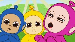 Teletubbies ★ BARU Tiddlytubbies Season 3! ★ Episode 8: Ping Sakit! ★ Videos For Kids