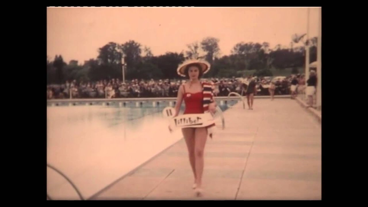 Opening Of The Parramatta And District War Memorial Swimming Pool Youtube