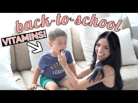 Best Vitamins for Kids: BACK TO SCHOOL 2019