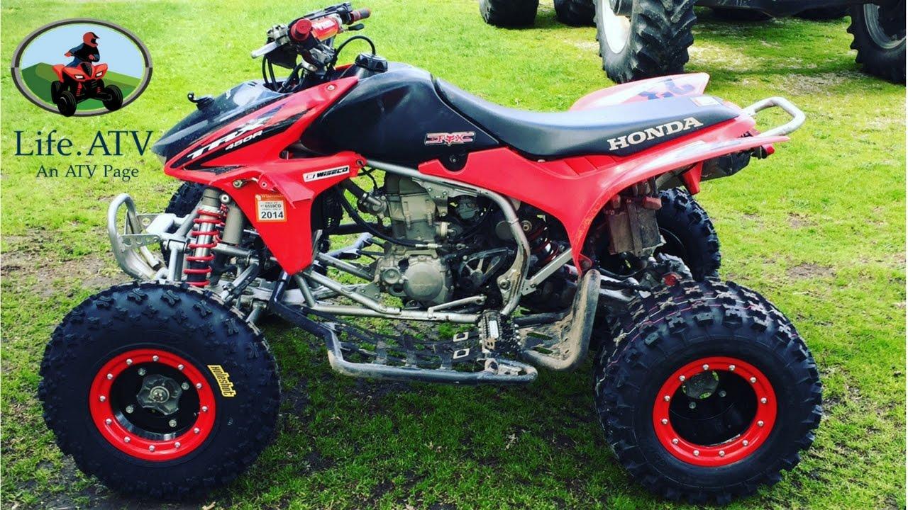 Honda Trx 450 Build Update