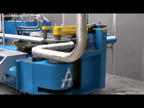 Tubotron 120 Cnc Pipe Bending Machine Youtube