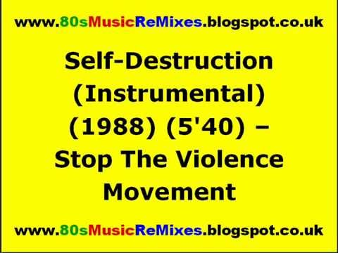 Self-Destruction (Instrumental) - Stop The Violence Movement | 80s Hip Hop Music | 80s Rap Classics