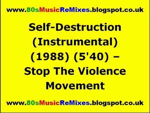 Self-Destruction (Instrumental) - Stop The Violence Movement | 80s Hip Hop Music | 80s Rap Classics