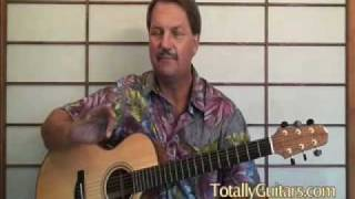 Cat Stevens - Father and Son (guitar lesson)