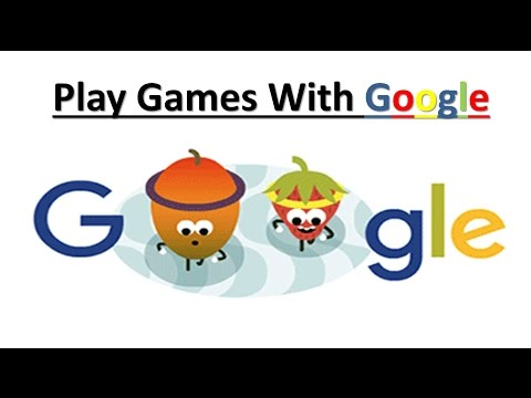 Play Games with Google | Google Easter Eggs