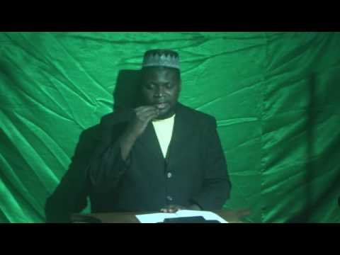 EMISSION ISLAMIQUE AHMDIYYA  CONGO BRAZZAVILLE DISTRICT DE GAMBOMA