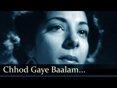 Chhod Gaye Balam Mujhe - Barsaat - Lata Mangeshkar, Mukesh
