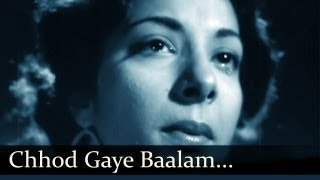 Chhod Gaye Balam Mujhe - Barsaat - Lata Mangeshkar, Mukesh Mp3
