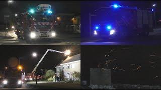 Brandweer Dongen & Oosterhout blussen schoorsteenbrand Donk Dongen