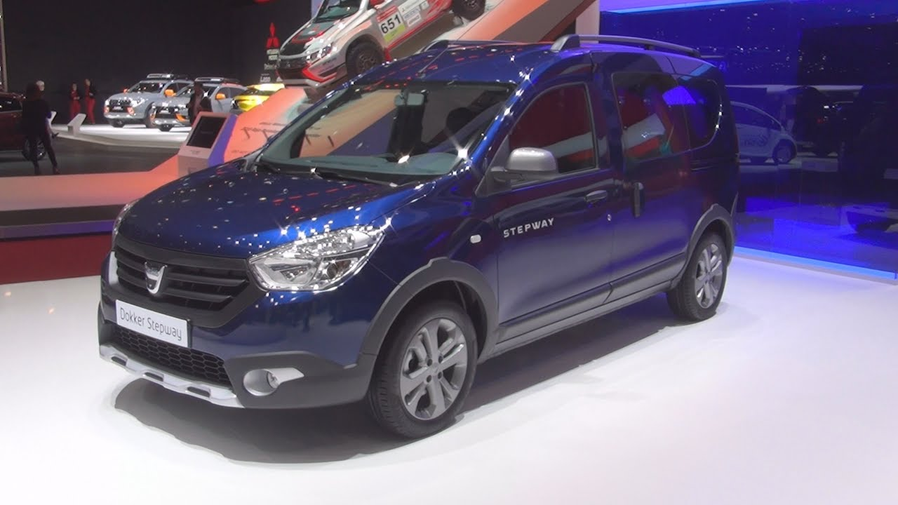 Dacia Dokker Stepway Tce 115 Start Stop 2017 Exterior And Interior