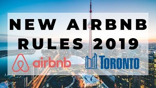 Gambar cover NEW Toronto AirBnb Rental Rules 2019