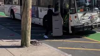 NJ Transit deletes tweet of a guy trying to board a bus with an ATM machine
